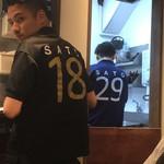 サトブリDA - 2x9=18シャツと29シャツ(^ ^)