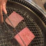 サトブリDA - ささっと脂を溶かすよーに炙って!
