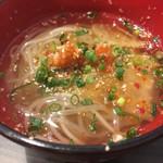 サトブリDA - シメのミニ冷麺
