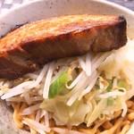 二郎系ラーメン 麺屋 春爛漫 - 汁なし春二郎(800円)