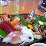 伊豆太郎 - お刺身定食