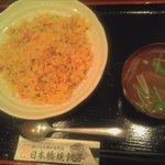 日本橋焼餃子 - チャーハンと餃子セット