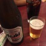 龍城飯店  - 瓶ビールとコーラ(^∇^)