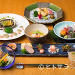 観世 - 『会席料理』※画像は一例。季節に応じて内容は変わります