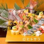 観世 - 『お祝い盛りこみ膳』※画像は一例。8名様分ご用意しています