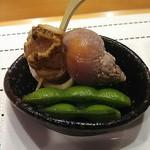 90161928 - つぶ貝とだだちゃ豆
