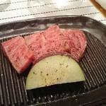 綾 - 和牛鉄板焼