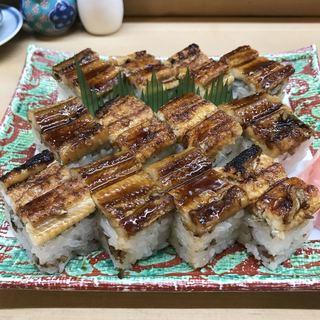 丹甫 - 料理写真:上穴子箱寿司
