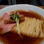 麺処清水 - 麺アップ