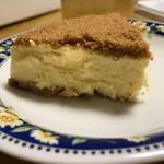 パパジョンズ - ニューヨークチーズケーキ断面