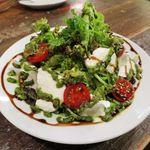肉バルブッチャーズ 八百八 - フレッシュモッツァレラのグリーンサラダ