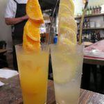 肉バルブッチャーズ 八百八 - フルーツサワー グレープフルーツ・オレンジ