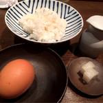 トリットリアバンブー - 卵かけご飯
