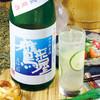 寿司ろばた 八條 - ドリンク写真:【8月限定】鷹来屋 夏酒 《特別純米酒》/鷹来屋夏酒サワー
