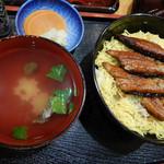 寿し安 - 鰻丼