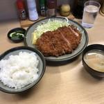 橋政 - ロースかつ定食1500円