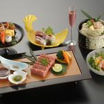 つつじの茶屋 - 季節野菜ステーキ御膳