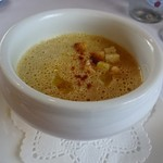 コム シェ ミッシェル - 焼きとうもろこしのスープ
