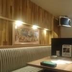 カフェ アンド レストラン オーガリ - 店内