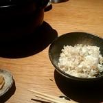 いさぎ - 土鍋で炊く鯛めし
