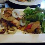 グリル マツモト - 本日の肉料理「豚肩ロースのグリエ」