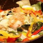 うまい野菜と魚がいっぱい 和んば - シーザーサラダ