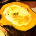 うまい野菜と魚がいっぱい 和んば - カボチャのグラタン(タテ)