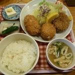 しすい亭 - メンコロ定食(980円)