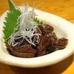 石臼挽き手打 蕎楽亭 - 穴子の肝の佃煮
