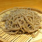 石臼挽き手打 蕎楽亭 - 十割そば 小盛り