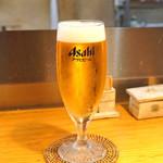 石臼挽き手打 蕎楽亭 - 小生ビール