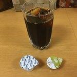 カフェ デ カリー - セットのアイスコーヒー('18/08/01)