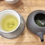 茶菓 えん寿 - 萎凋(いちょう)煎茶「香駿」(単品450円)
