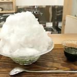 茶菓 えん寿 - かき氷は600円〜('18.7月)