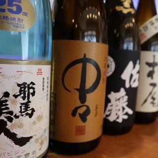 お料理に合う日本酒・焼酎を豊富にご用意しております!