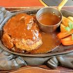 肉料理の八段 - デミグラスハンバーグ