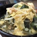 焼肉 味楽 - スープ(具沢山)