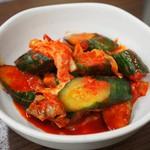 焼肉 味楽 - 無料サービスの胡瓜キムチ