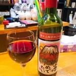 90177749 - 富士山絵手紙ワイン