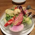 90178500 - 鎌倉野菜のガーデンサラダ(ハーフサイズ)