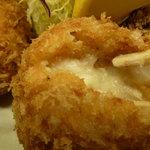 しすい亭 - とり肉のコロッケ