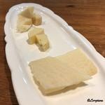 インコントラ・ヒラヤマ - チーズの盛合せ