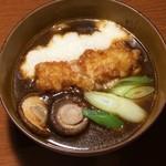 金沢カレー - カレーぶっかけうどん