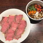 牛骨らーめん 牛王 - チャー牛つけ麺