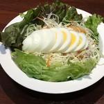 金沢カレー - タマゴサラダ