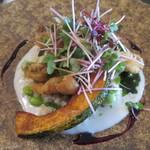 レストラン タガミ - メイン シマイサキのフリット リゾット添え