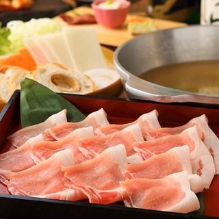 プレミアム松坂豚のしゃぶしゃぶコース全7品5,000円