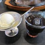 もりもと - アイスクリーム、アイスコーヒー