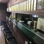 龍泉食堂 - カウンター