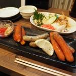 居酒屋コバラヘッタ - 料理写真:ウィンナー盛り